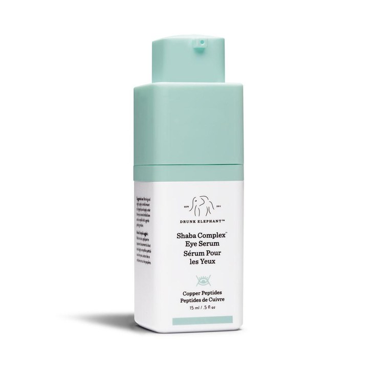 7. Shaba Complex™ Eye Serum - Drunk Elephant - Crows feet beware! This guy noticeably reduced fine lines around my eyes very fast! I use it twice a day.Shop it here.