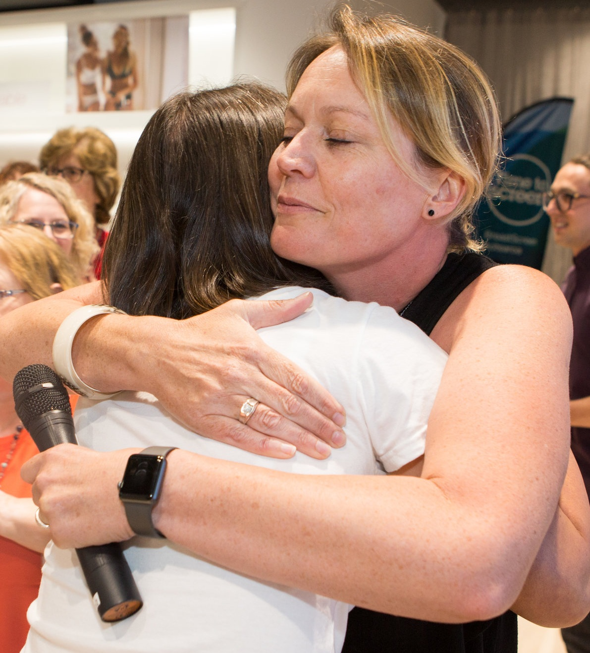 Angela Nash - Tim's Business Mentor and all round decent human being. Pretends she doesn't like hugs.
