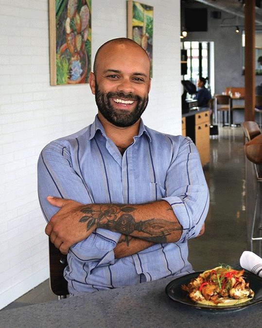 Chef Sebastian Manjon Cubero - VIDA RESTAURANT