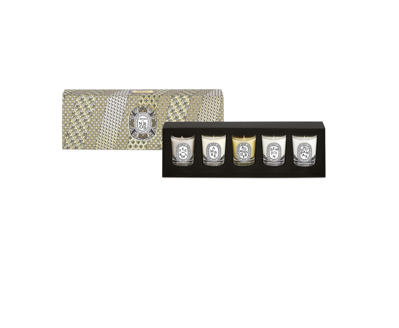 Diptyque Mini Candle Set