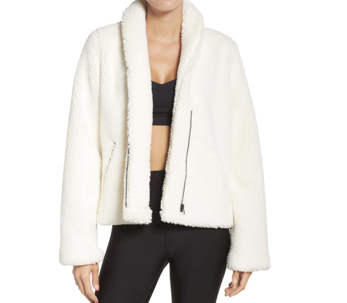 Alo Cozy Up Faux Fur Jacket