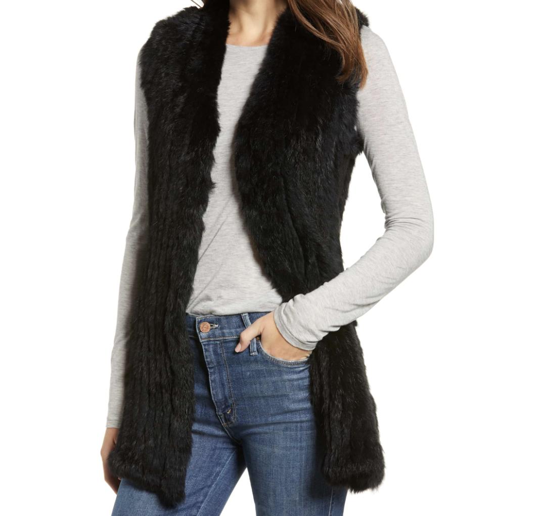 Love Token Fur Vest