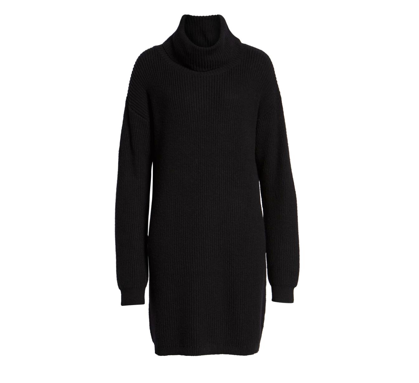 B.P. Cowl Neck Sweater Dress