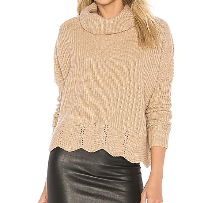 Autumn Cashmere 'Shaker' Sweater