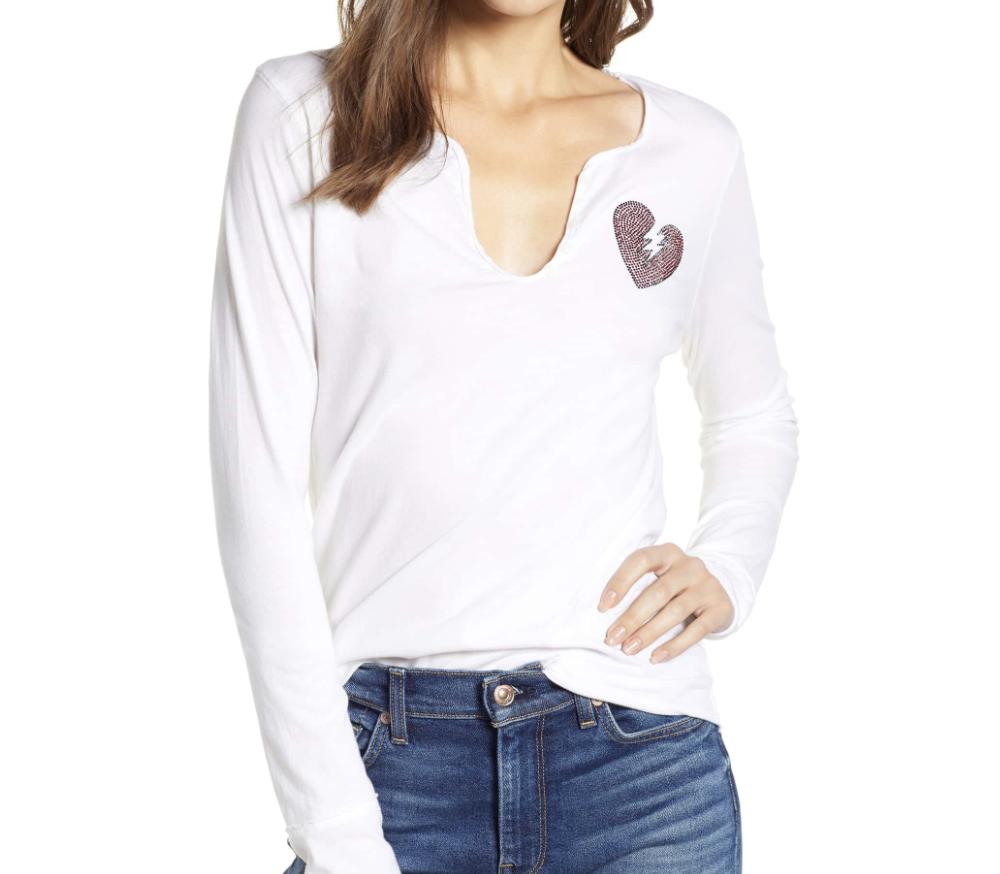 Zadig & Voltaire Heartbreaker Shirt