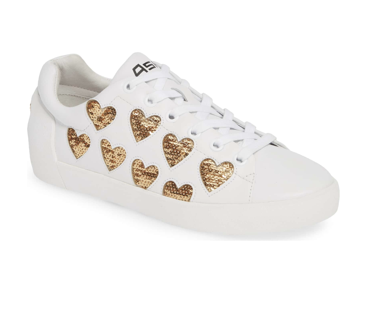 Ash Nikita Sequin Hearts Sneakers