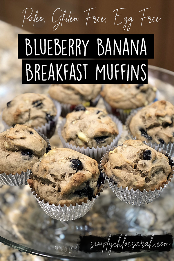 Pinterest Blueberry Banana Breakfast Muffins