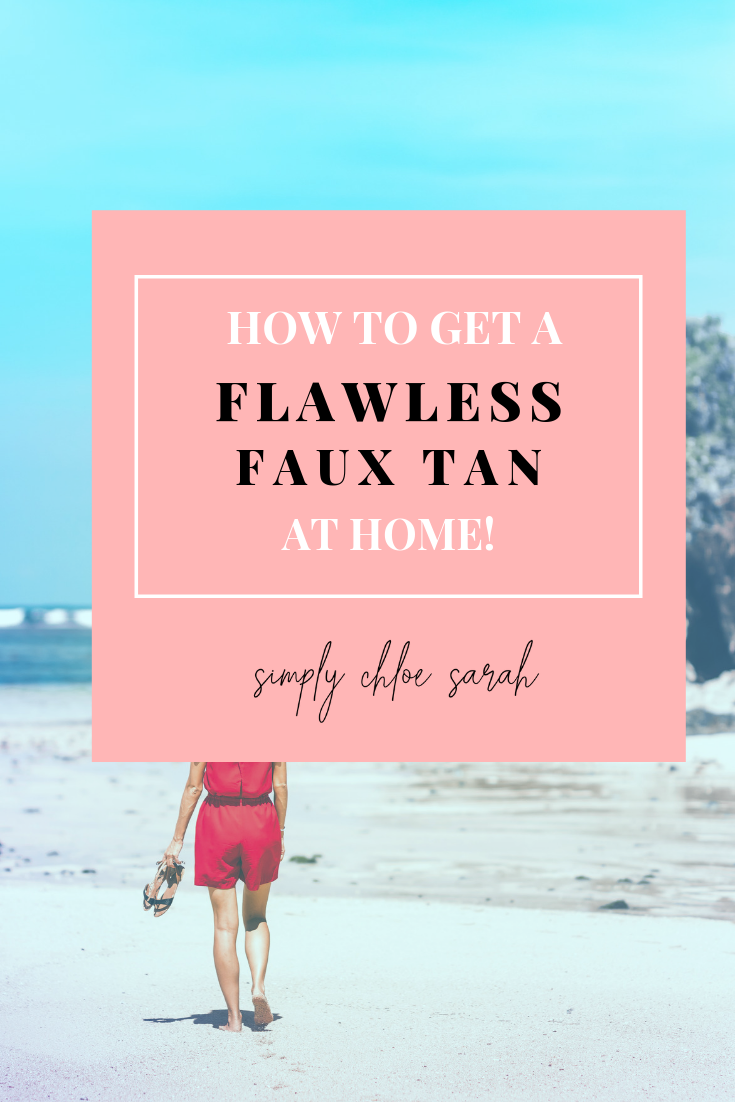 Flawless Faux Tan At Home