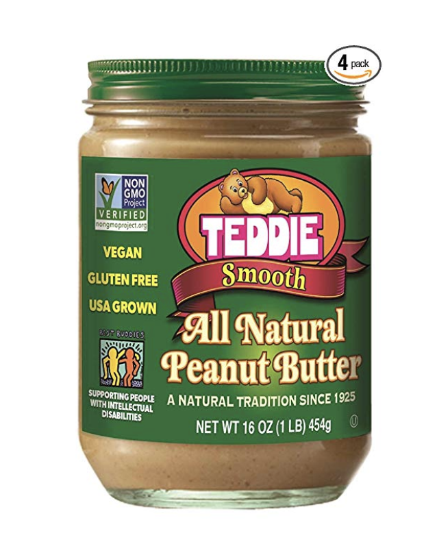 Teddie's SMooth All Natural Peanut Butter