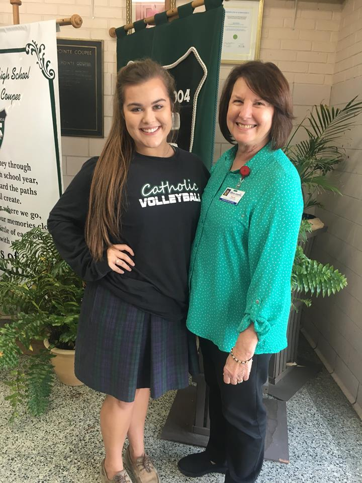 """Olivia Beauvais - 2018 """"Volunteers Are the Foundation of Hospice"""" Award"""