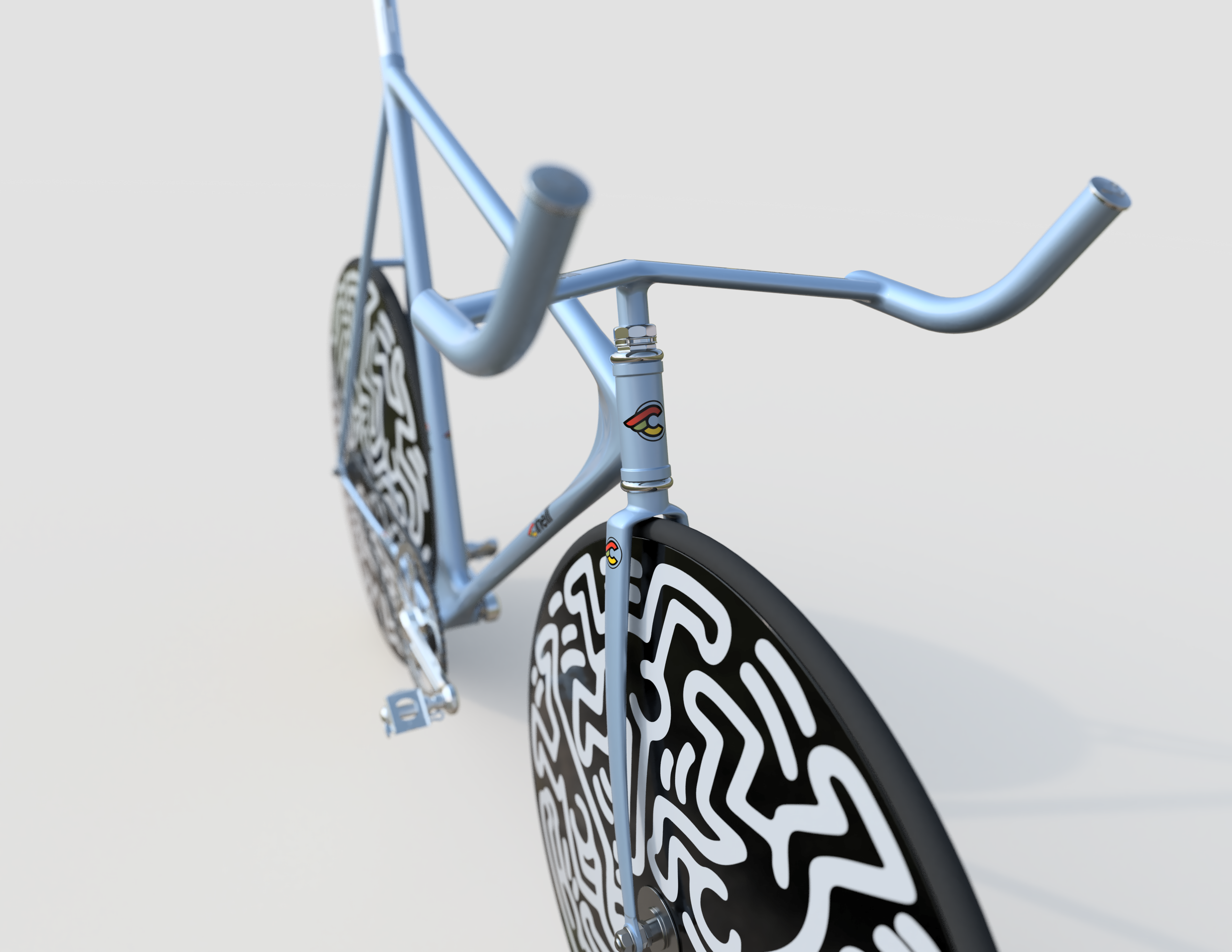 Keith Haring Cinelli Laser