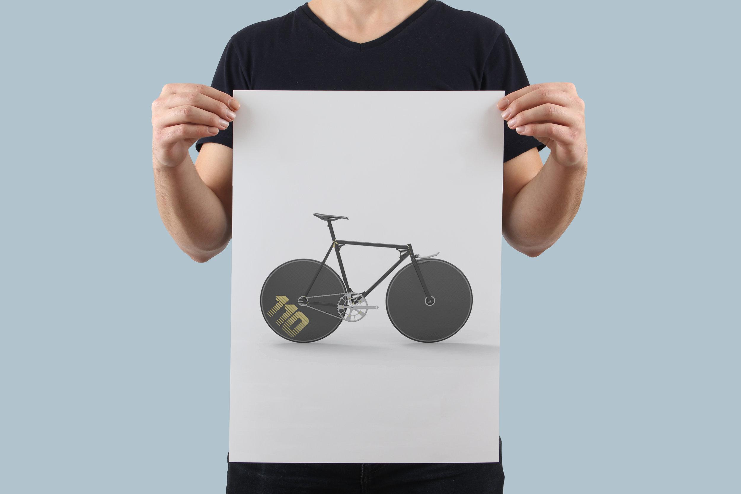 Deco Lo-Pro Pursuit - Limited Edition Print 1 of 20