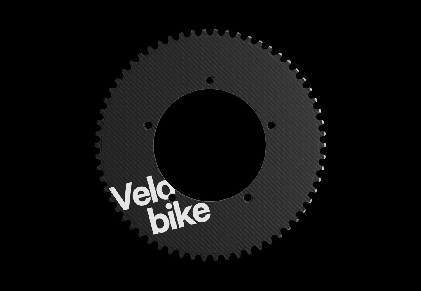 Carbon Track Chainrings -