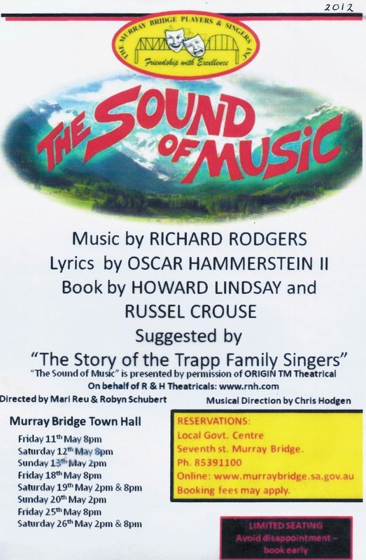 The Sound Of Music (2012) - Band - Bass
