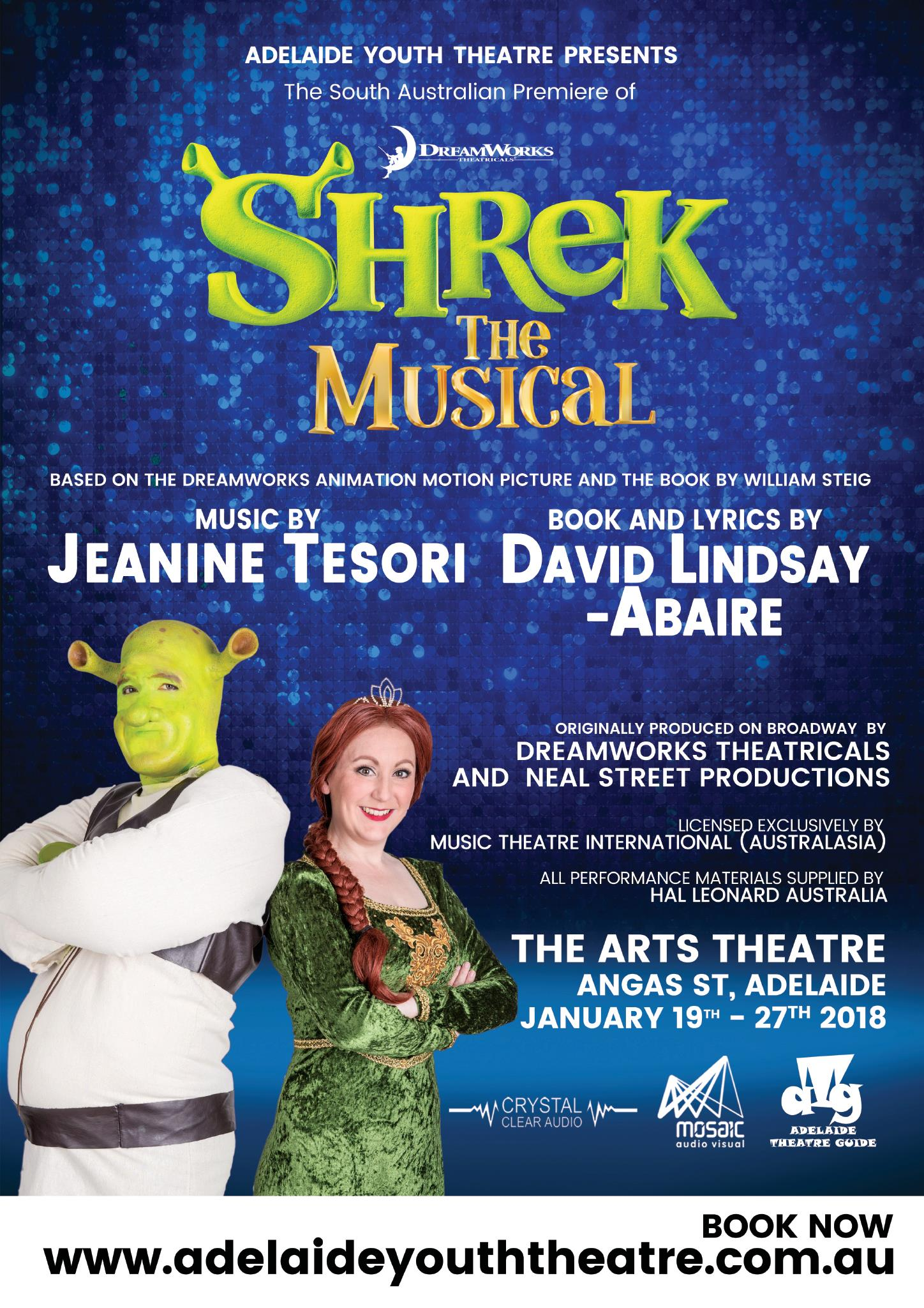Shrek - Assistant Musical Director, Repetiteur and Keyboard 1