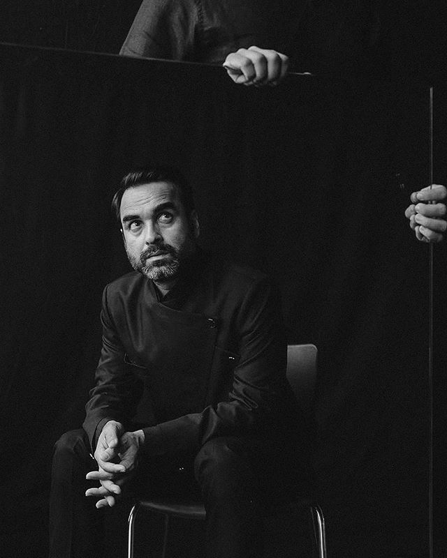 Pankaj Tripathi doing his thing for Just a Number in the latest issue of The Magazine, where we question why ageing has always been explored from a woman's perspective, and dig into a man's relationship with his age. • Photographed by @thebadlydrawnboy  Styled by @shirinsalwan  HMU by @miteshrajani Story by yours truly 🎉