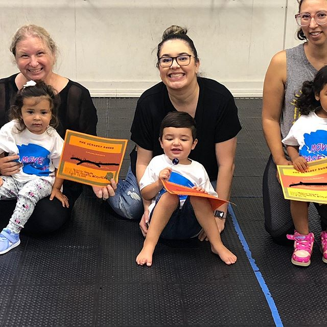 These cuties finished Sensory MovesTM Camp today and these parents made a great team. We hands on learned and explored our sensory system. #movesmade4me #jmmdanceco #cityofgilroyrecreation
