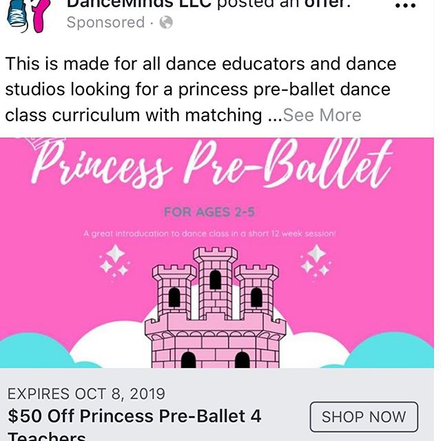 Hey dance teachers, I have revamped my princess pre-ballet curriculum. Check it out to see if it is something that can help in your classes.💕#dancemindsllc