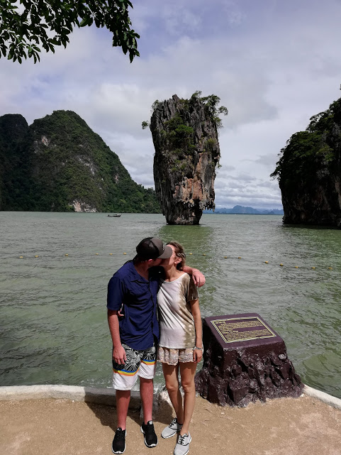 Exhibit A - cheesy picture on James Bond island with Koh Tapu in the background.