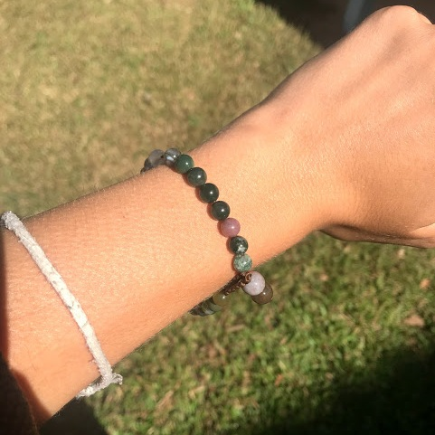 My happiness bracelet reminds me to choose happiness everyday.