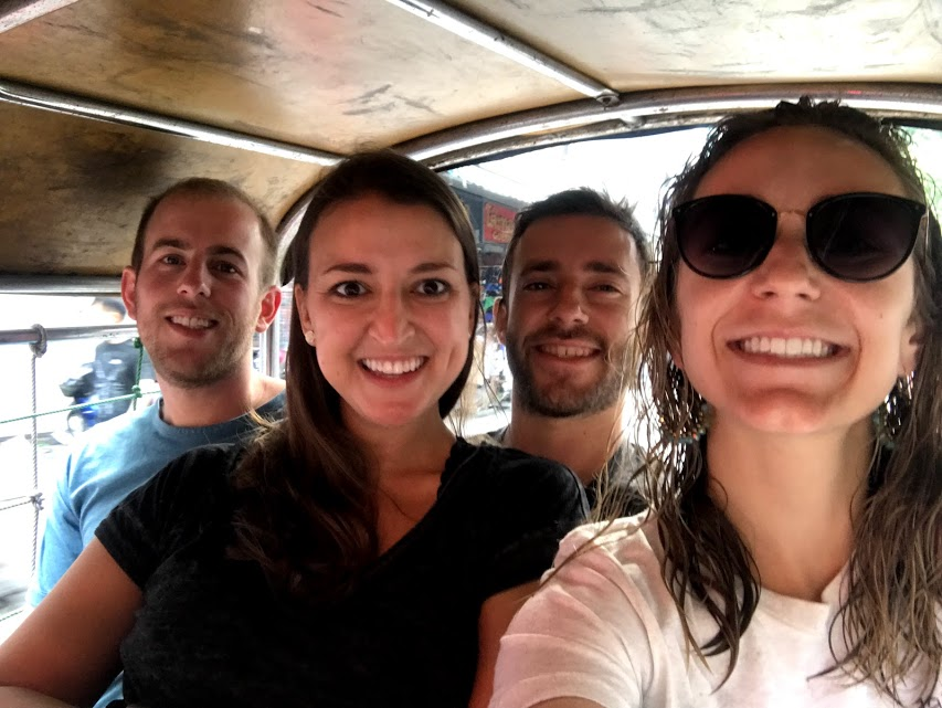 Did you even ride in a tuk-tuk if you didn't take a selfie!?
