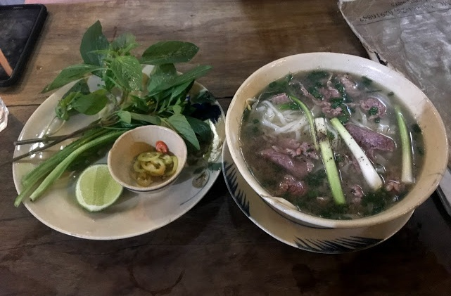 Of course we had to try some Pho in Vietnam!