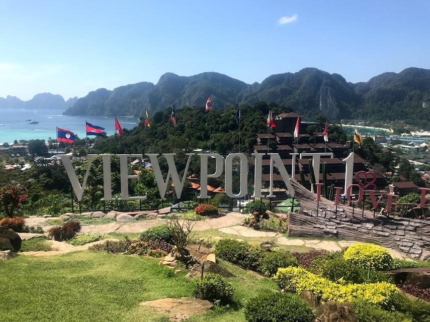 A photo of Viewpoint 1 at Ko Phi Phi Don!