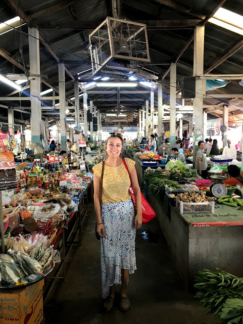 Shopping at the Phu Sang local market is part of our weekly routine! We even have a go to veggie guy.