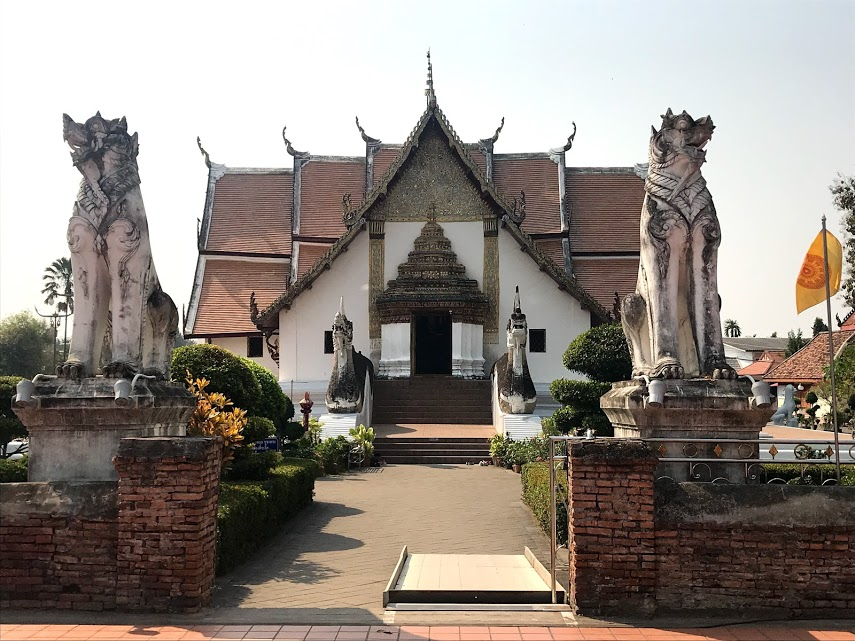 Exterior of Wat Phumin
