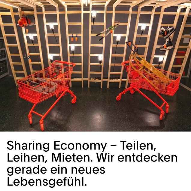Life at Home, digitales Magazin - Dinge zu teilen statt zu kaufen wird in der Schweiz immer populärer. Doch wie nachhaltig ist das wirklich?
