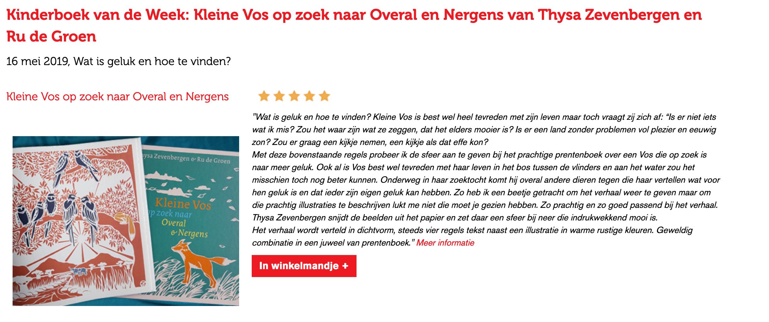 Libris.nl : Kinderboek van de Week