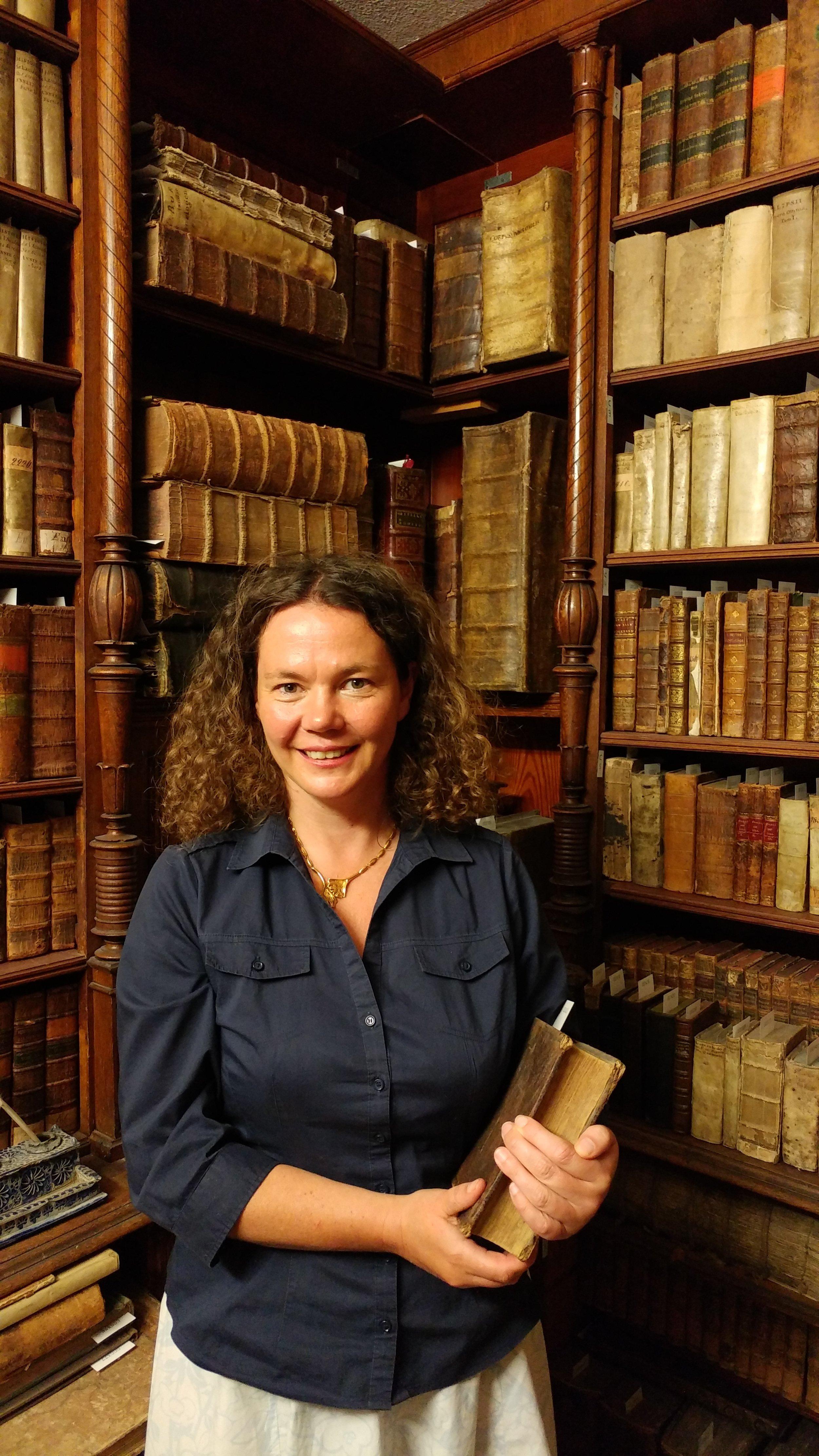 Museumsleiterin und Initiatorin Dr. Jennifer Morscheiser freut sich auf die PAN-Autorinnen und -Autoren. Foto: PAN