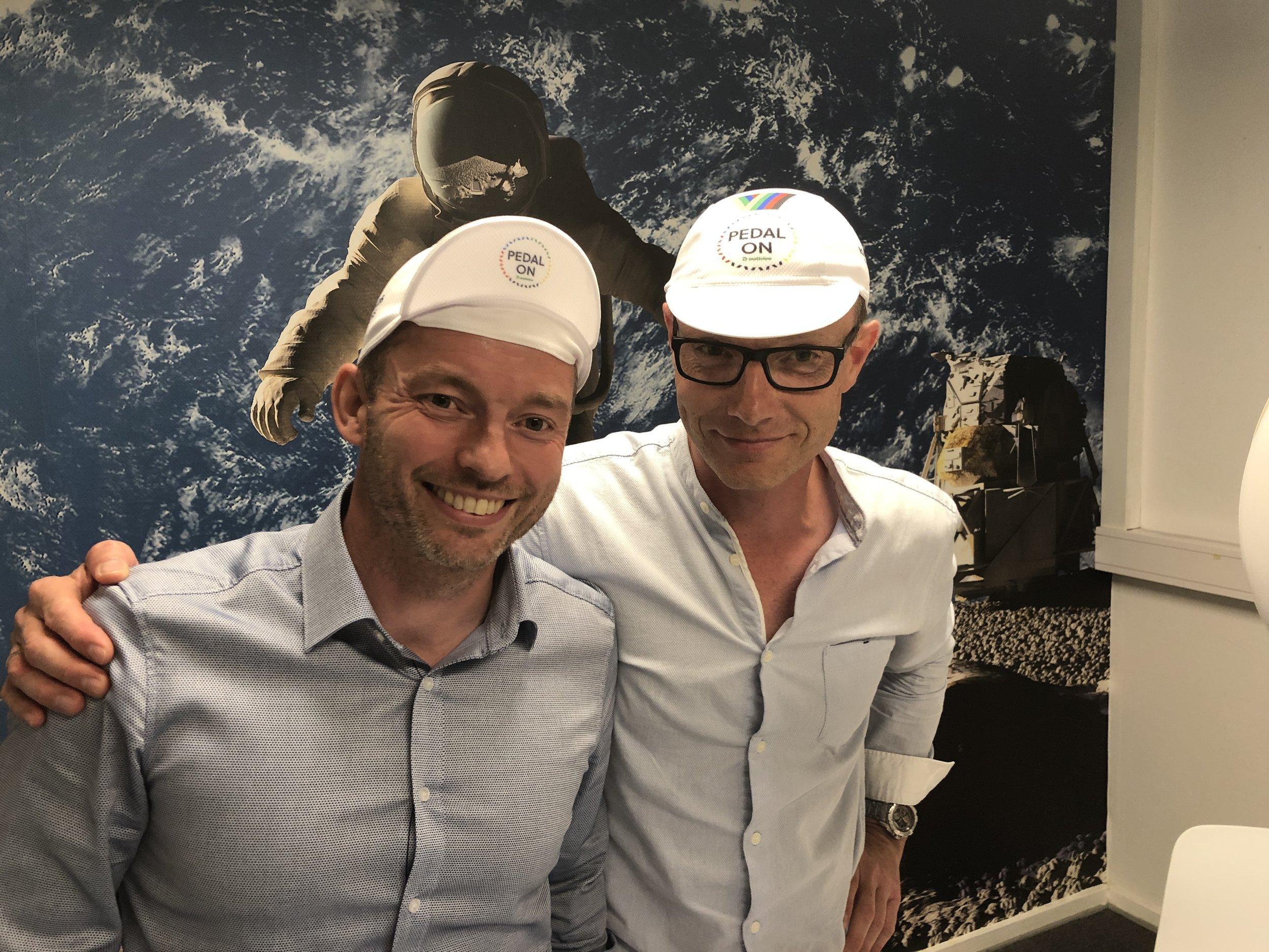 Director Torben Jørgensen (left) and product specialist Lars Büchert in MEYRA.