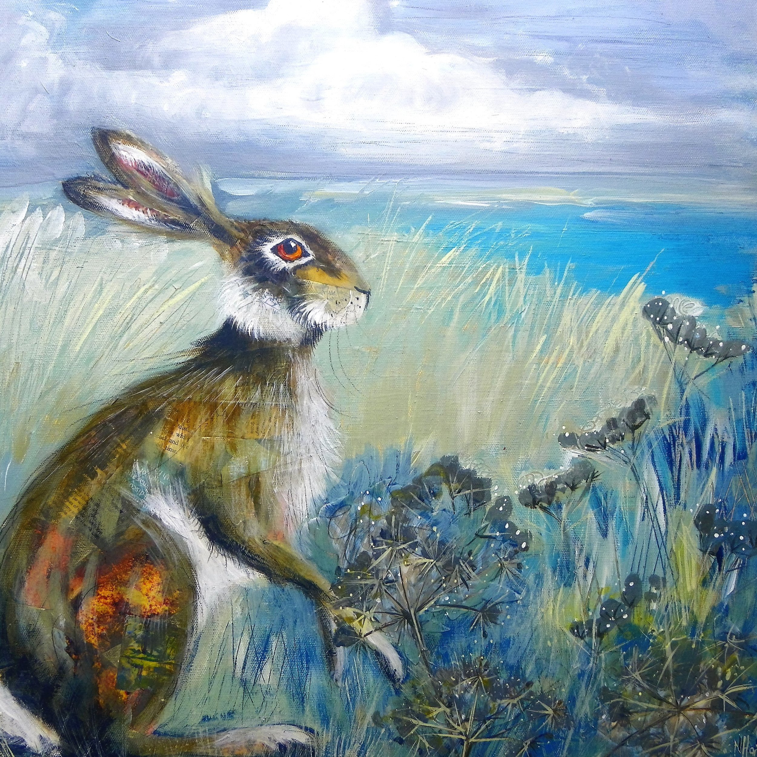 Holme hare (sold)