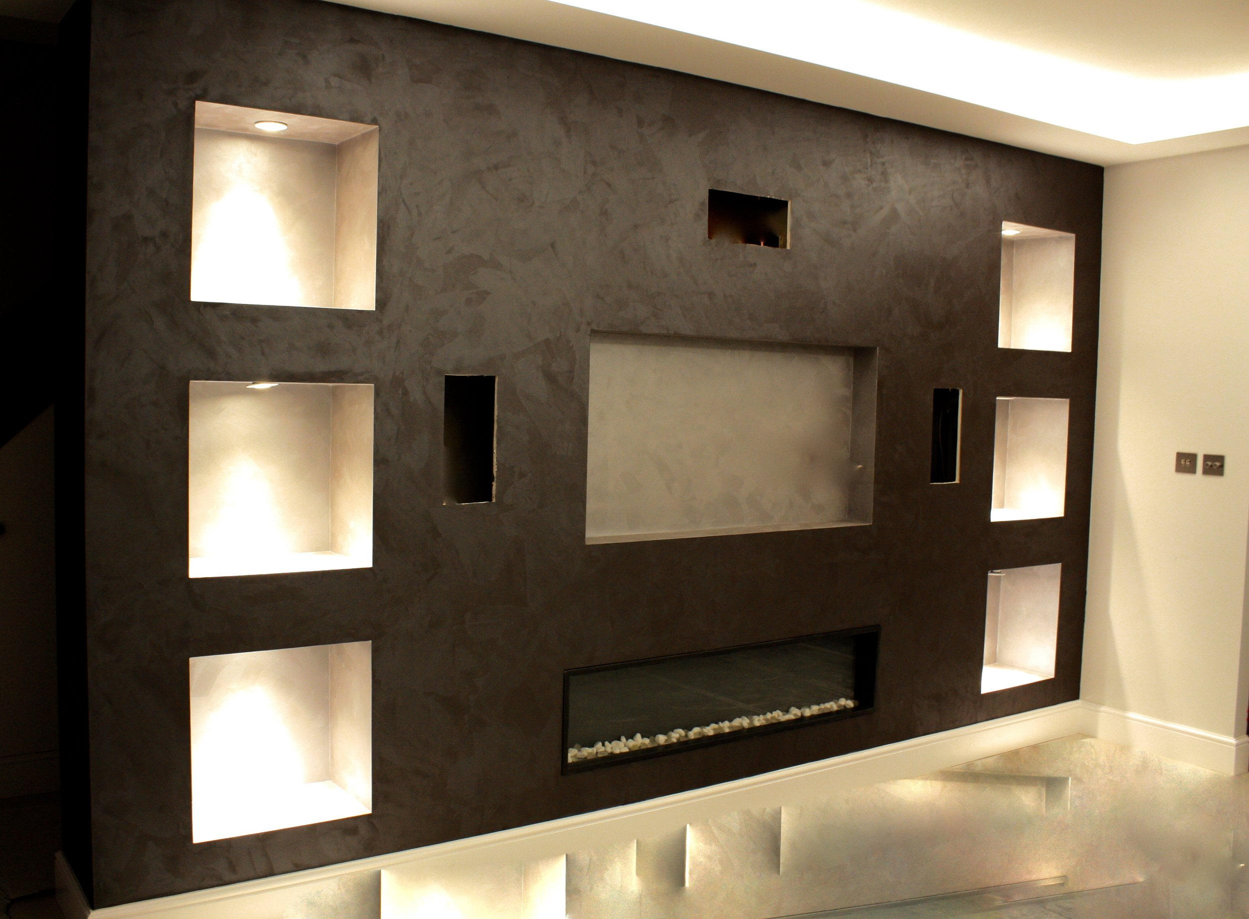 bespoke dark grey velvet distressed silk finish fabulous finishes uk tammara mattingly ottocento fireplace.jpg
