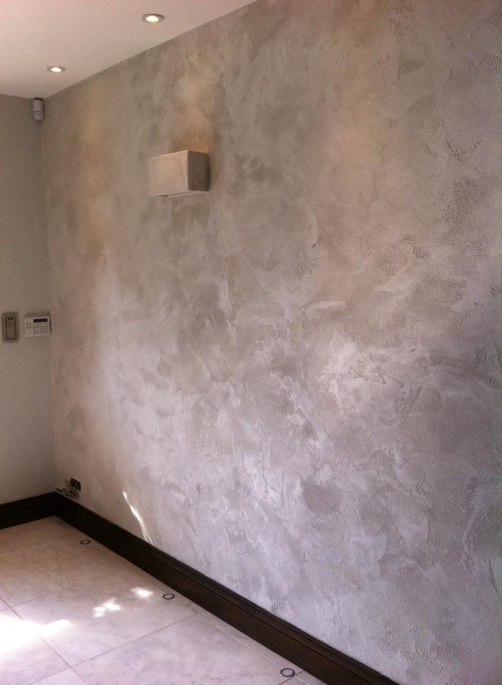 travertino stone plaster troweled finish with sparkling shimmering ottocento bespoke designer italian finish interior design 2.jpg