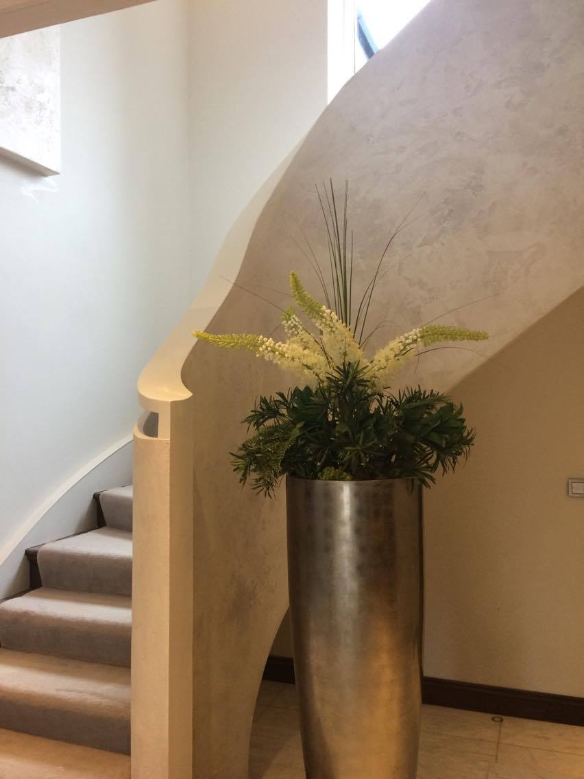 COVER PHOTO bespoke travertino polished plaster renovated stairs modern look unique fabulous finishes uk tammara mattingly .jpg