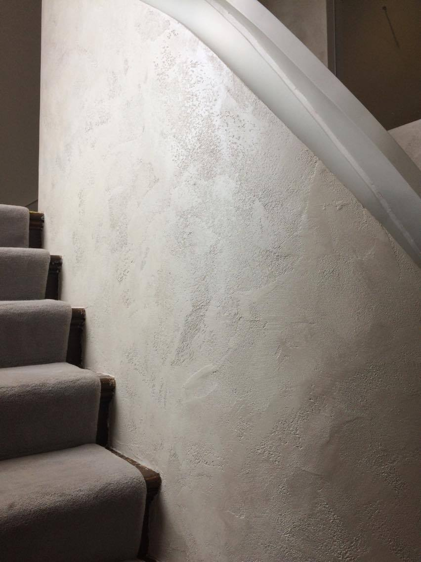 bespoke travertino polished plaster renovated stairs modern look unique fabulous finishes uk tammara mattingly 5.jpg