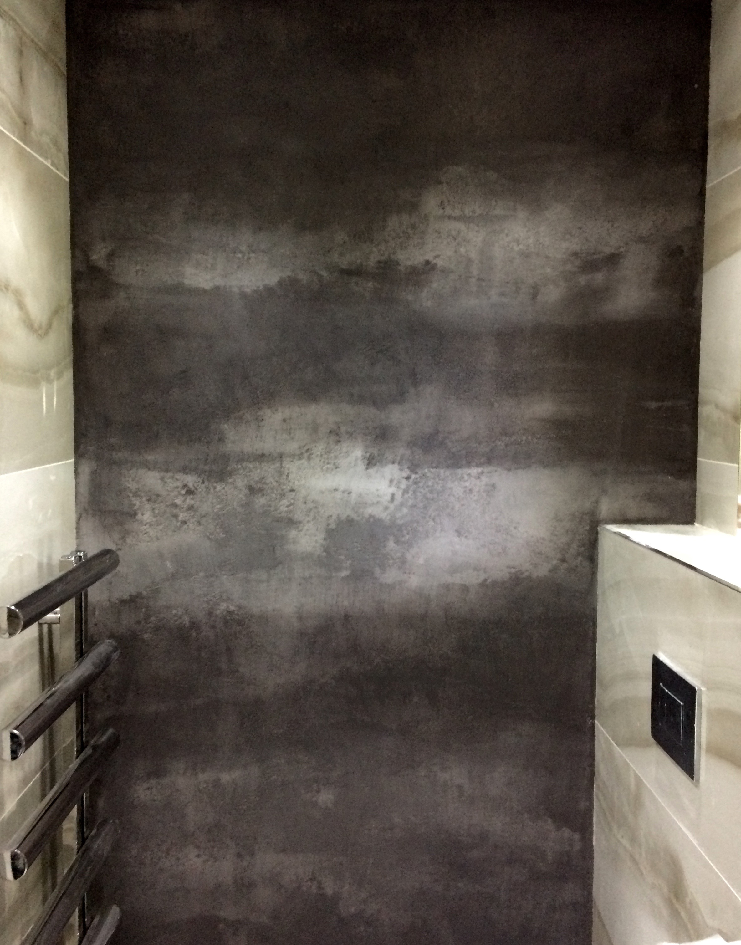 bespoke plaster travertino abstrat water proof bathroom art texture stone wall.jpg