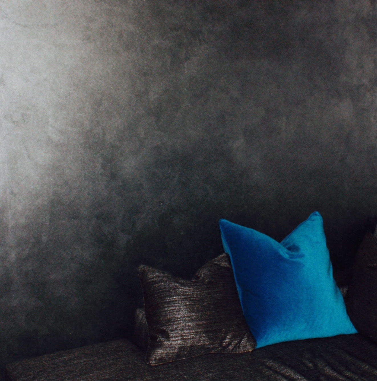 grey metallic textured bespoke feature wall finish custom interiors 1.jpg