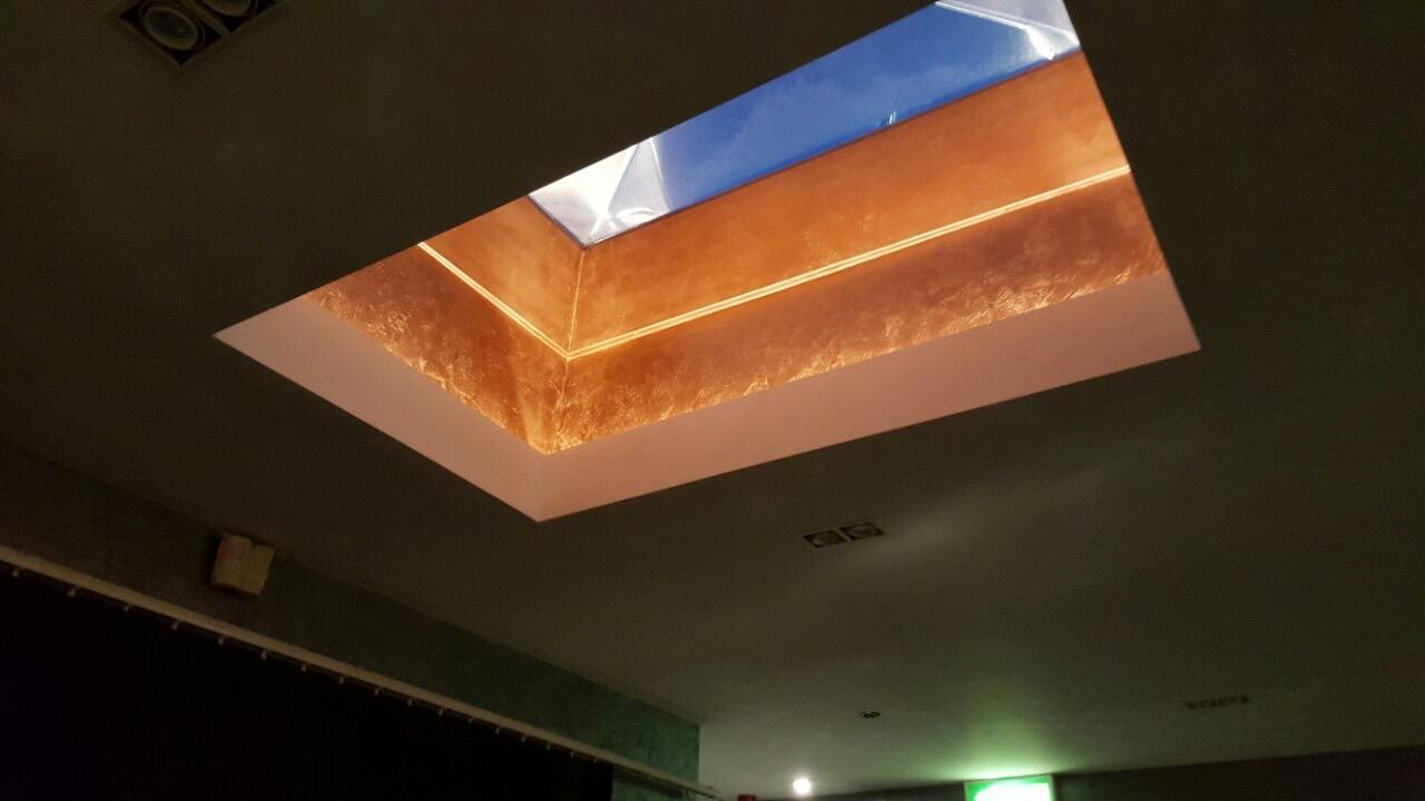 bespoke copper metallic feature finished tammara mattingly interior design fabulous finishes uk london .jpg