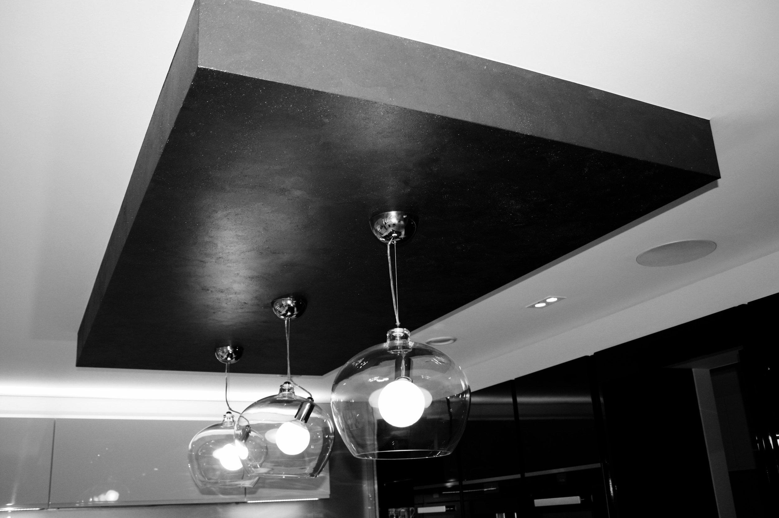 bespoke metallic graphite painted finish cieling island feature wall finish custom interiors jpg.1.jpg