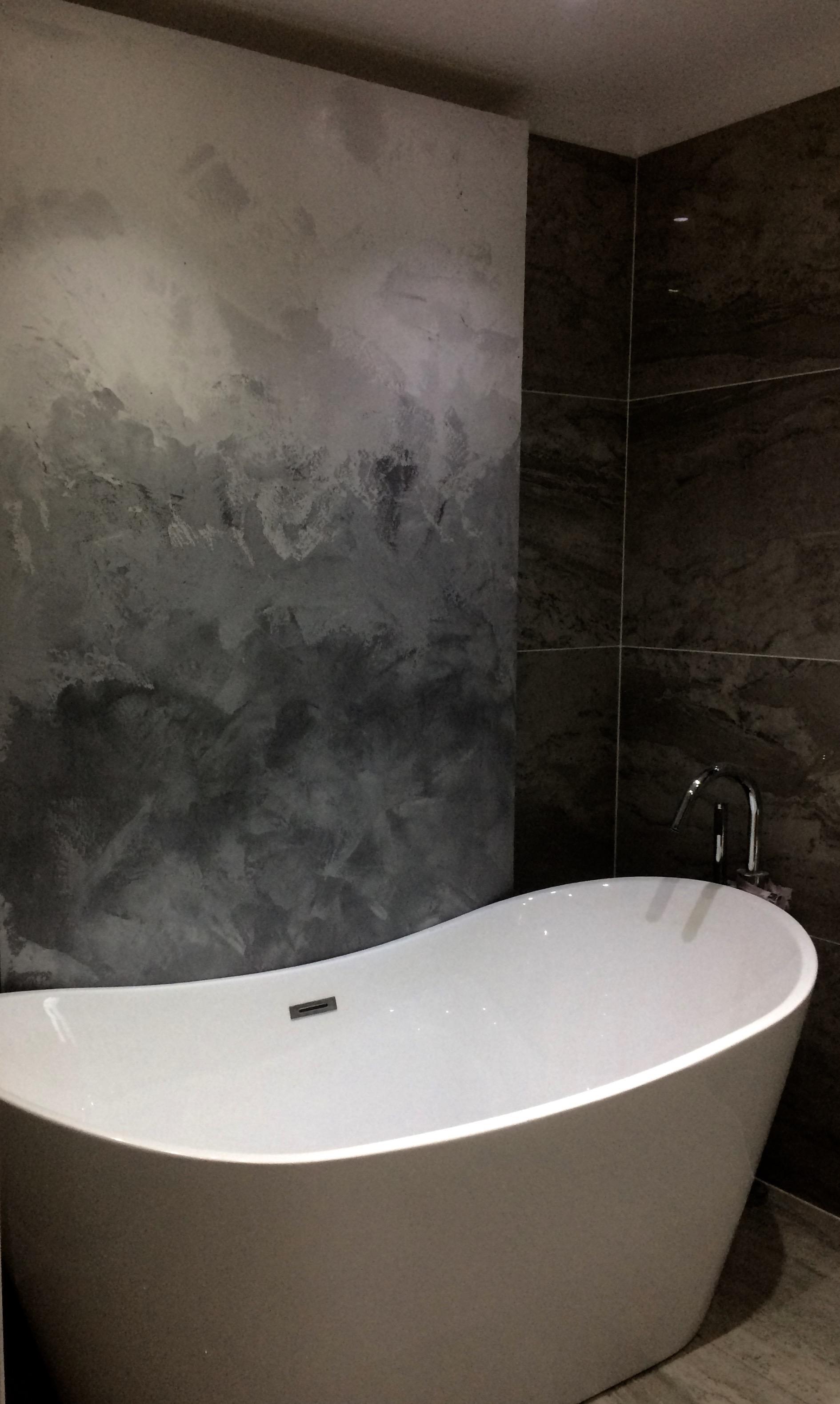 waterproof polished plaster art tone graduation absrtact art tammara mattingly fabulous finishes uk. bespoke luxury bath.jpg