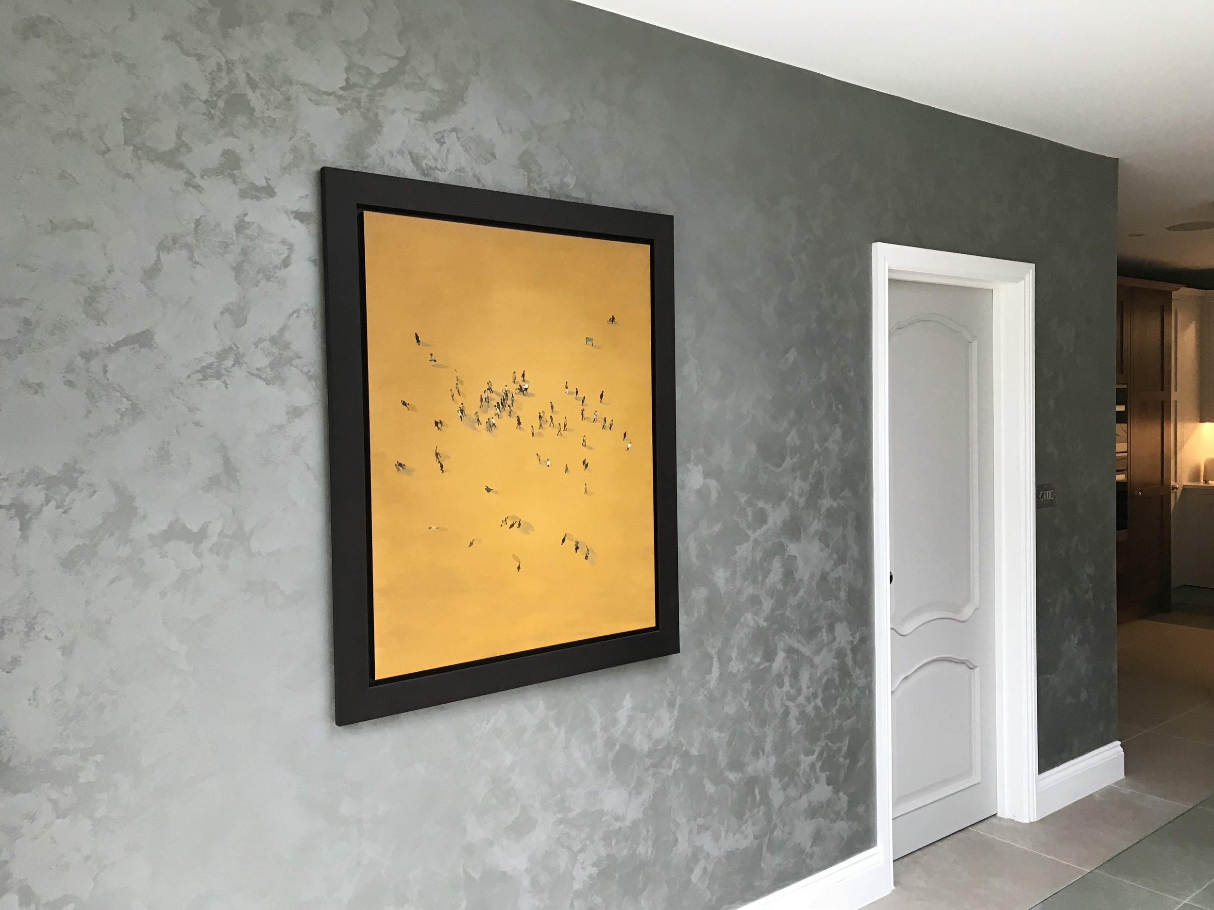 concrete suedelux finish bespoke suede wall finish fabulous finishes uk