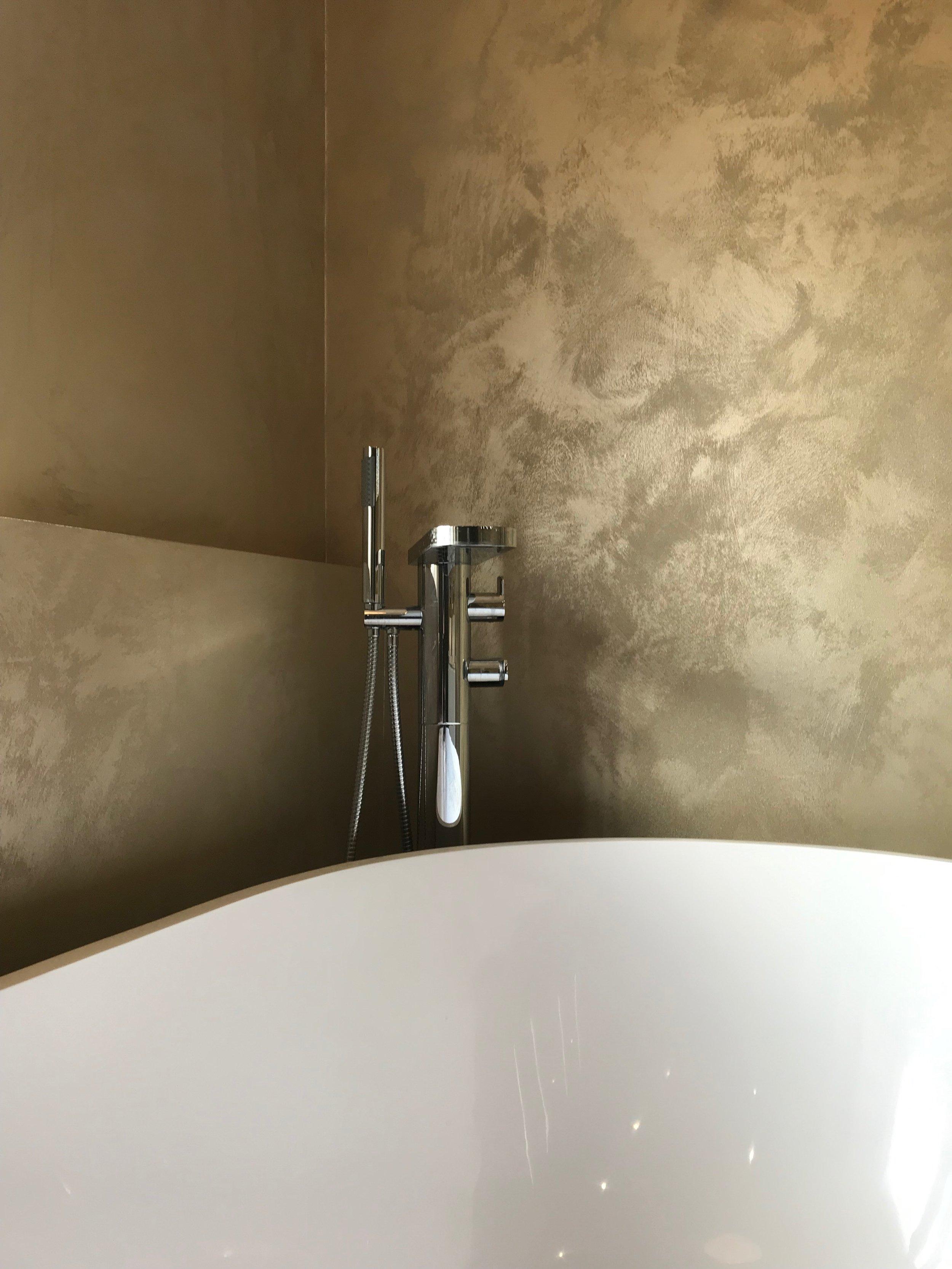 gold suedeLux luxury italian bespoke wall finish fabulous finishes uk