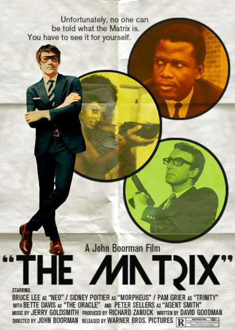 Late 60's 'The Matrix' Poster