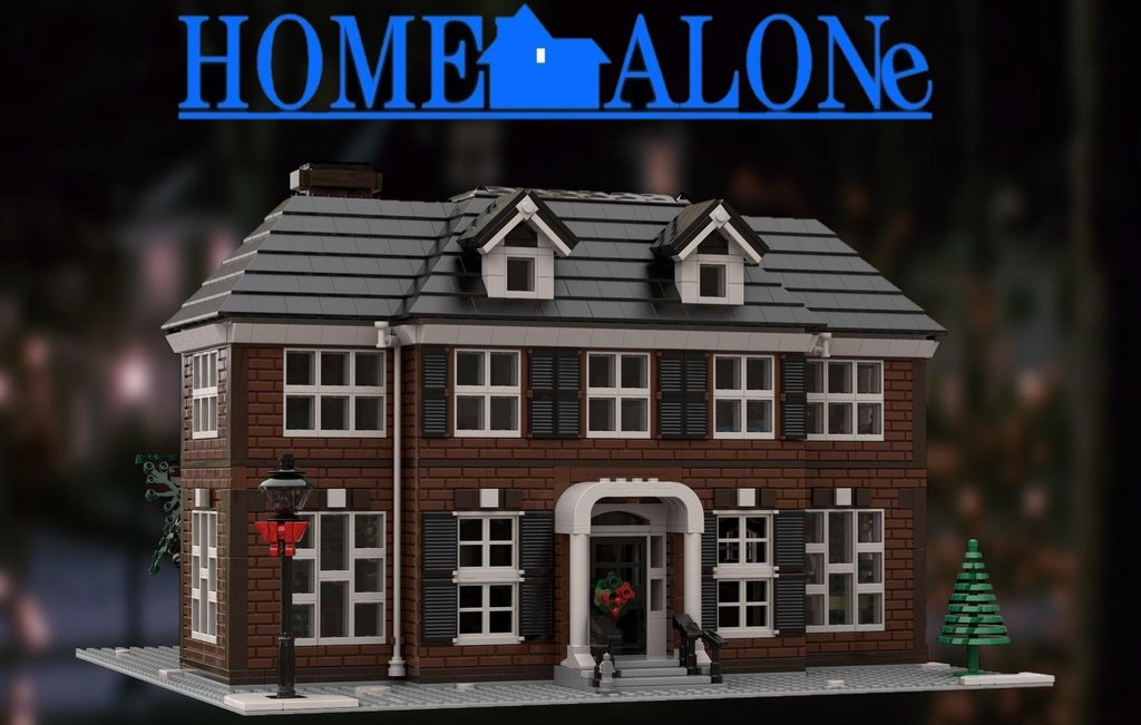 Lego Home Alone House