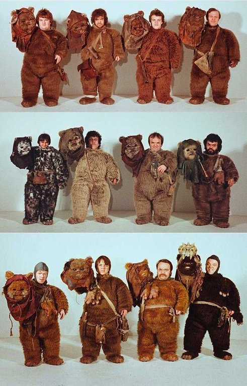 Ewok Actors