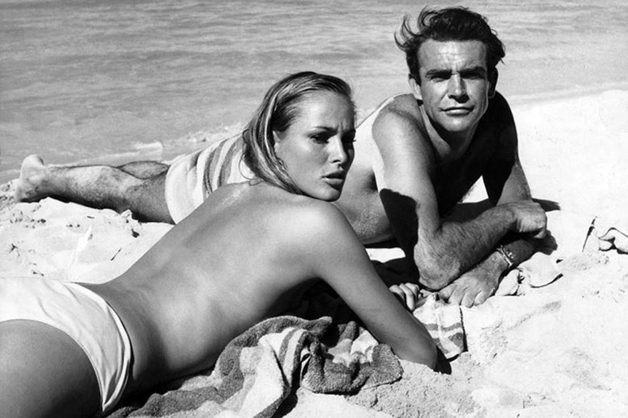 Sean Connery and Ursula Andress