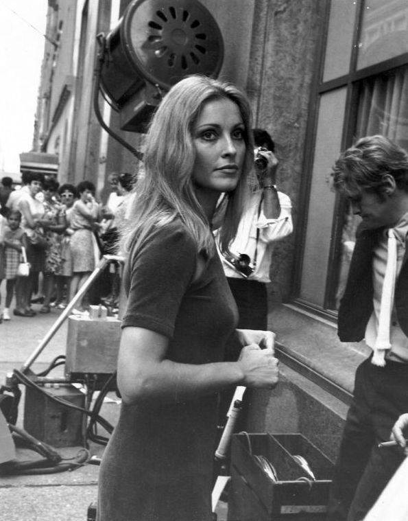 Sharon Tate on the Set of 'Rosemary's Baby'